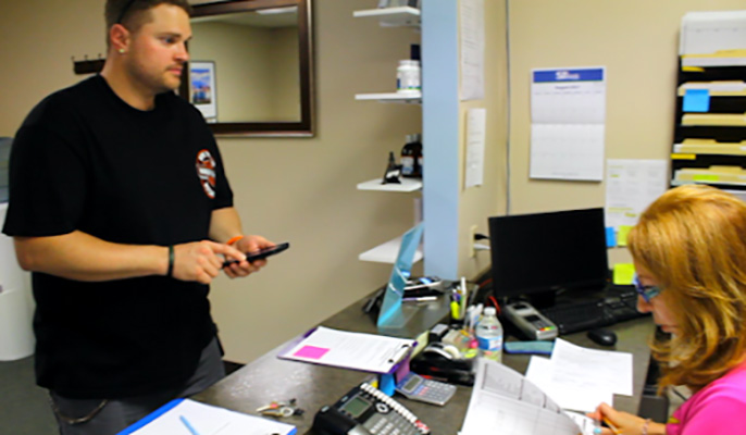Chiropractic Irwin PA Office Assistance