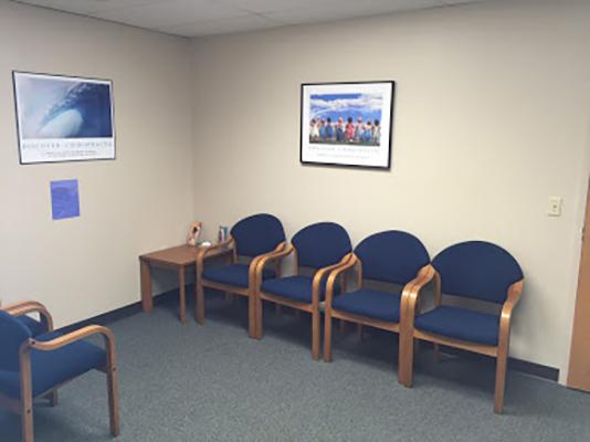 Chiropractic Irwin PA Waiting Area