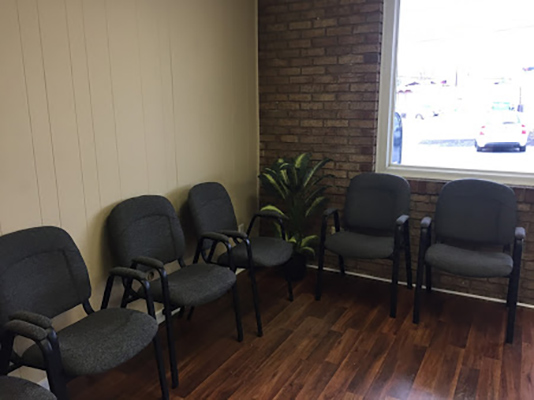 Chiropractic Monroeville PA Waiting Area