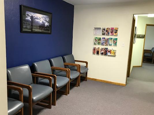Chiropractic North Huntingdon PA Waiting Area